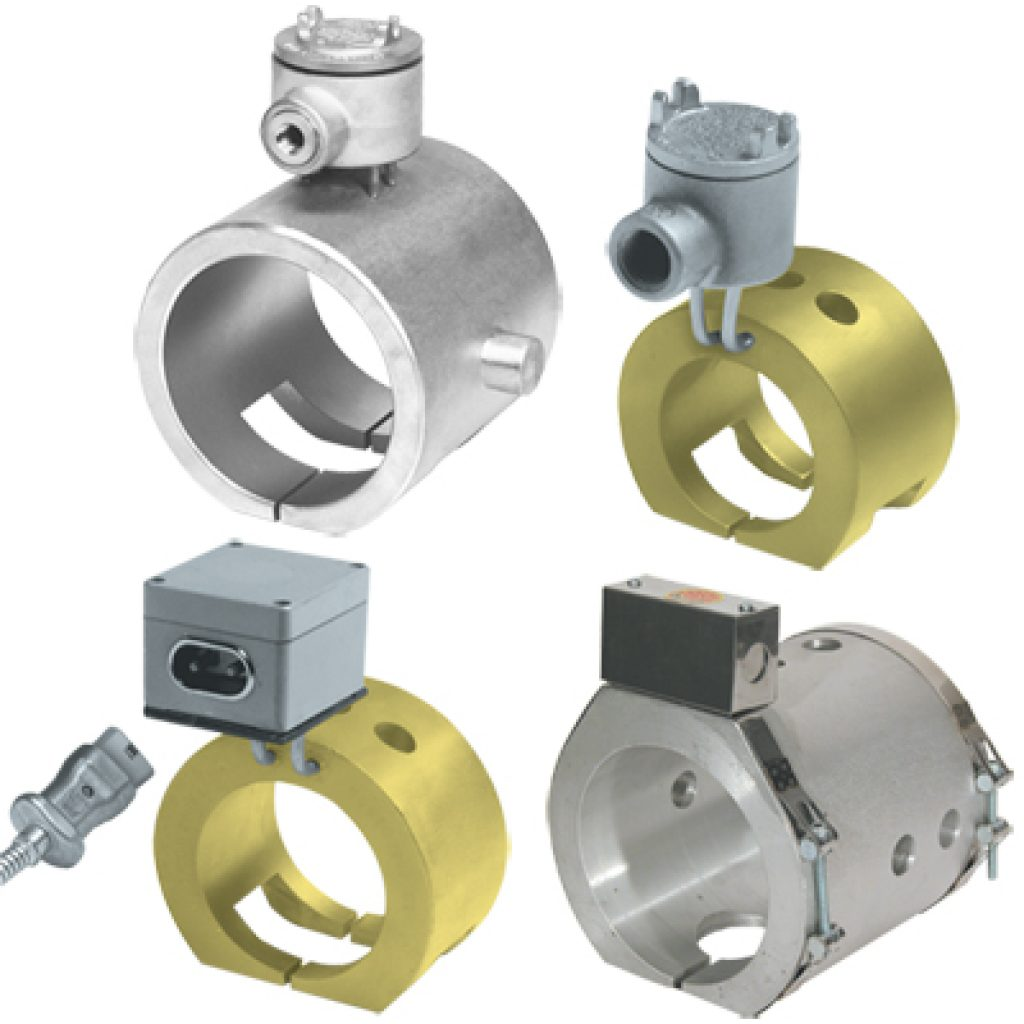 Cast Band Heaters Aluminum And Bronze Phoenix Thermal Supply
