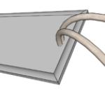 Mica Strip Heater SL4 Leads