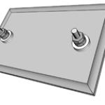 Mica Strip Heater SN3 Terminals